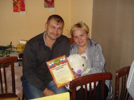 Пахаруковы Ирина и Эдуард – наши новички и активисты!